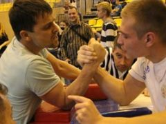 Открытые  соревнования Самарской  области по армрестлингу