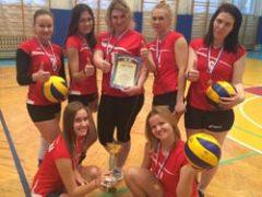 «За здоровый образ жизни» — первенство по волейболу среди женских команд