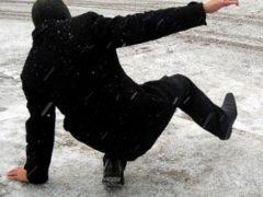 Правила безопасности для пешеходов в условиях снегопада и гололеда