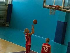 Первенство района по женскому волейболу