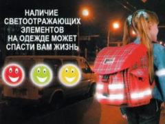 Светоотражающие элементы обеспечивают безопасность пешеходов