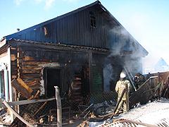 В пожаре погиб двухлетний ребенок