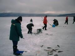 Меры безопасности на льду в зимний период