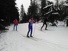 Первенство района по лыжным эстафетам