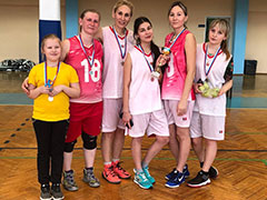 Первенство района среди женских команд по баскетболу