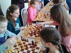 Шахматный турнир в ЦВР
