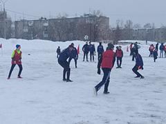 Футболу состоится при любой погоде