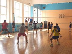 Первенство г.п. Смышляевка по мужскому волейболу
