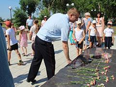В Волжском районе прошли мероприятия посвященные – Дню Памяти и Скорби