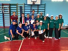 Товарищеская встреча ветеранов по спортивному многоборью