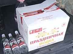Инспекторы ДПС обнаружили немаркированную алкогольную продукцию
