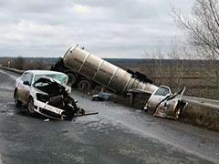 ДТП на обводной автодороге
