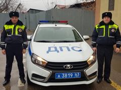 Сотрудники ДПС задержали пьяного угонщика
