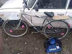 Задержали угонщика велосипеда