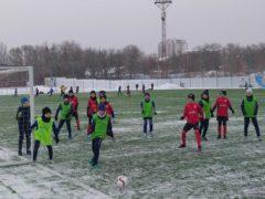 Зимний фестиваль футбола