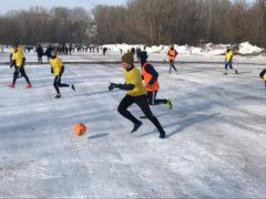 Зимний мяч Богатое 2020