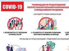 Рекомендации по профилактике коронавируса в период майских праздников
