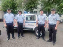 Благодарность правоохранителям Волжского района