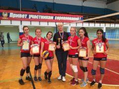 Первенство по женскому волейболу