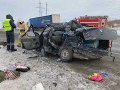 В Волжском районе в трагической аварии погиб 4-х месячный малыш и его мама