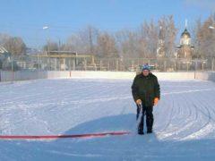 Открытие катка и набор в хоккейную секцию