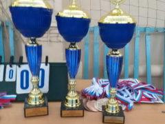 Соревнования по волейболу среди школьников