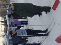 27 января на стадионе прошёл I тур соревнований г.п. Смышляевка по лыжным гонкам