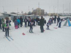 3 февраля на стадионе прошёл II тур соревнований г.п. Смышляевка по лыжным гонкам