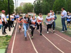 На спортивной площадке ГБОУ СОШ N1 прошли соревнования по легкоатлетическому четырехборью